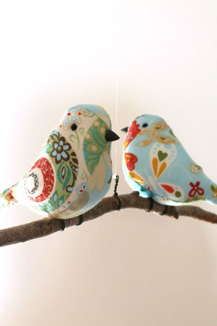 Best 17 Best Images About Fabric Birds To Sew On Pinterest This Month