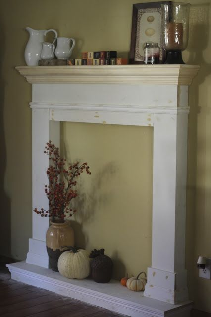 Best 20 Faux Fireplace Mantels Ideas On Pinterest Fake This Month