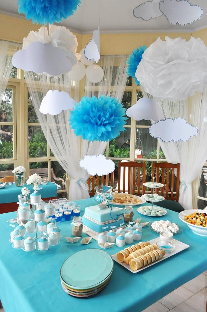 Best Christening Party Decorations Paper Boat Christening This Month