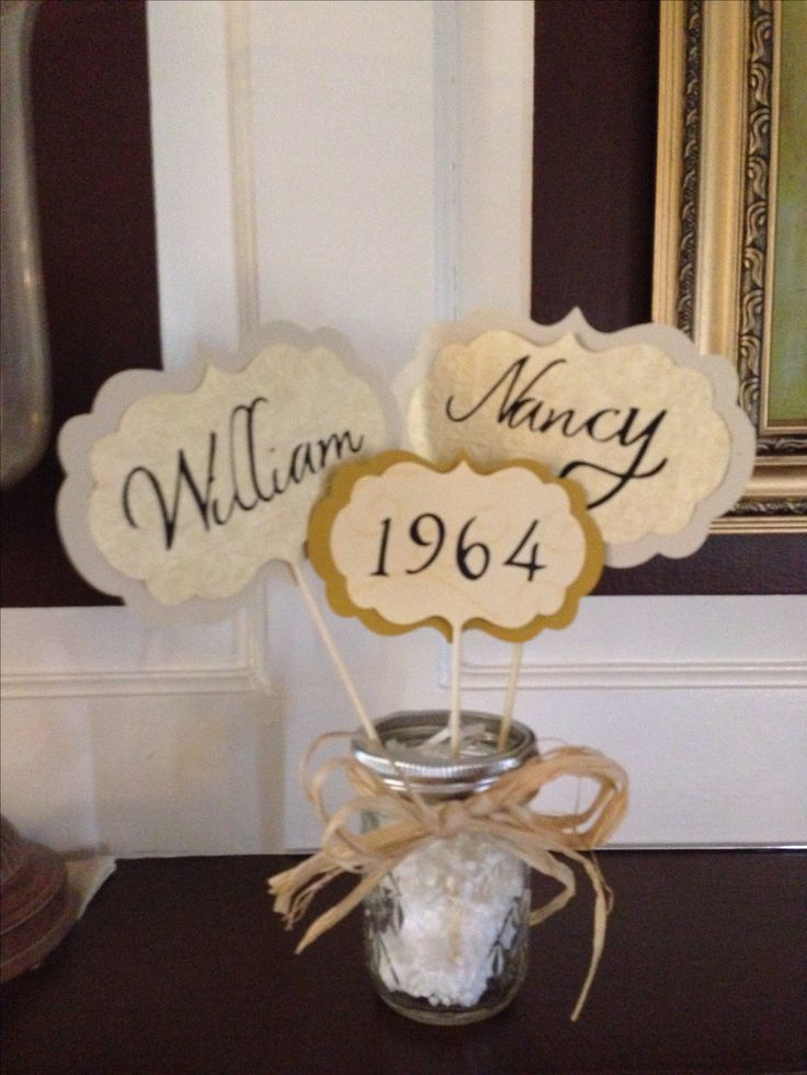 Best Table Center Pieces For Parent S 50Th Anniversary Dona S This Month