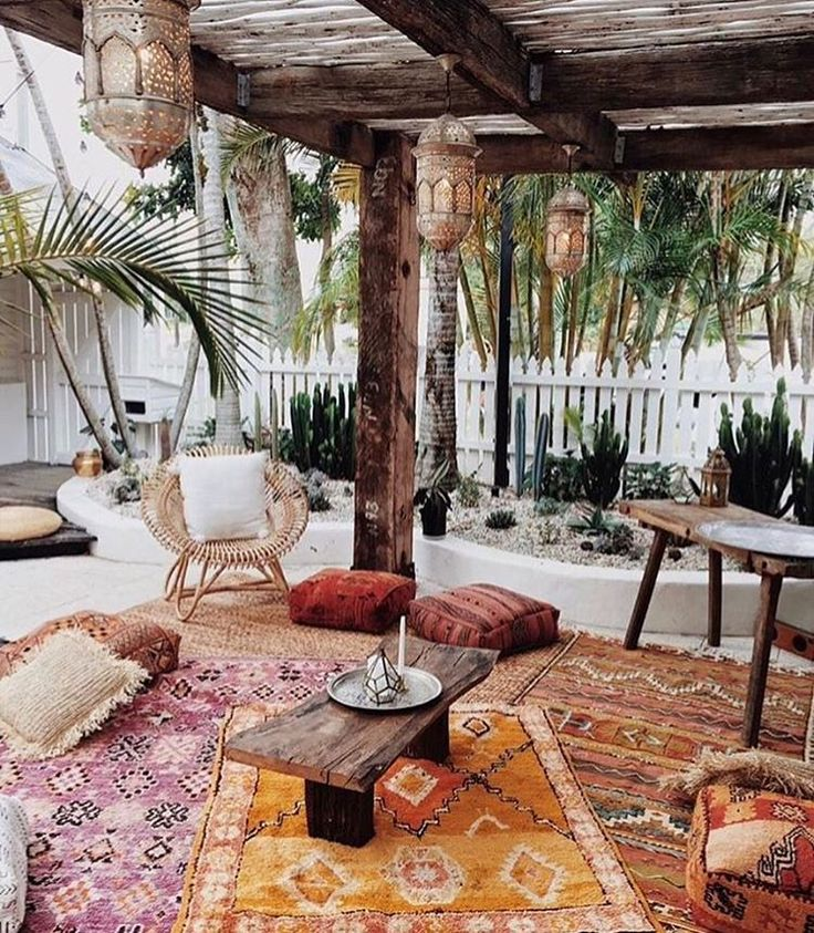 Best 25 Best Ideas About Bohemian Patio On Pinterest Cozy This Month