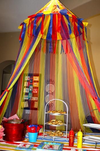 Best Big Top Tent Decorations And Preschool Rooms On Pinterest This Month