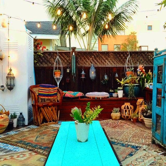Best Boho Patio Inspiration All Decor Styles Themes This Month