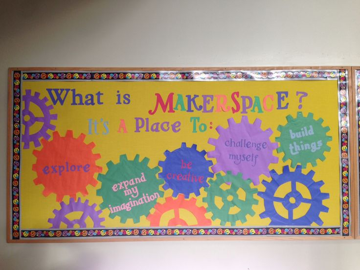 Best Elementary Library Makerspace Bulletin Board Makerspace This Month