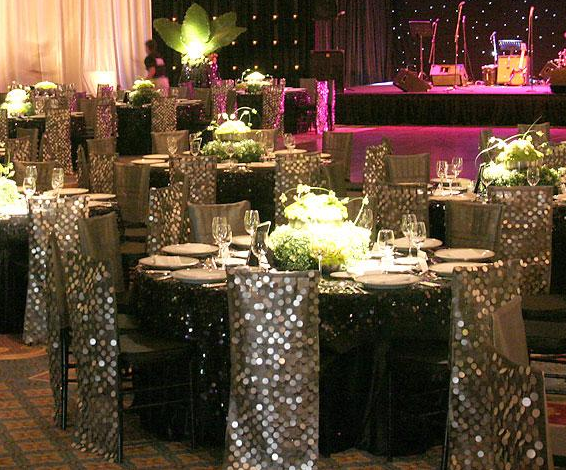 Best Silver Bling Wedding Decoration Ideas Table Glamour This Month
