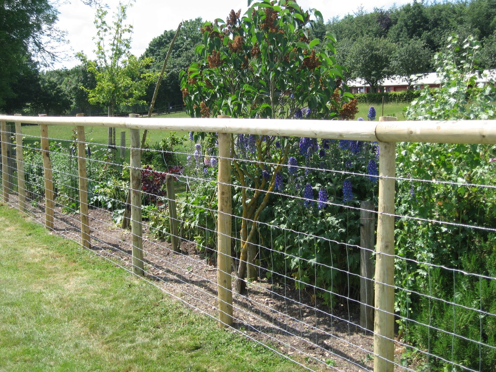 Best Wood And Wire Fence Fantastic Fencing Decorative Wire This Month