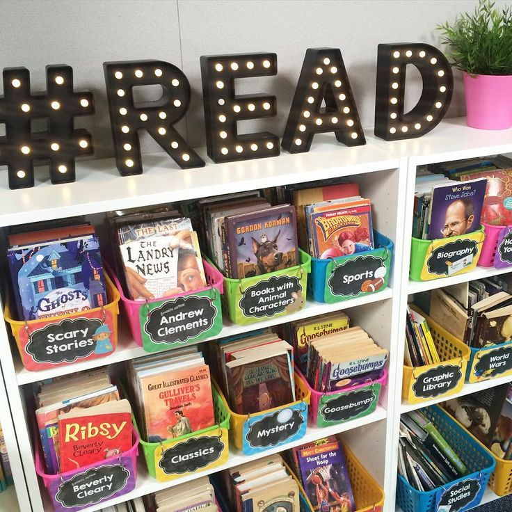 Best Super Cute Classroom Library Includes Marquee Letters This Month