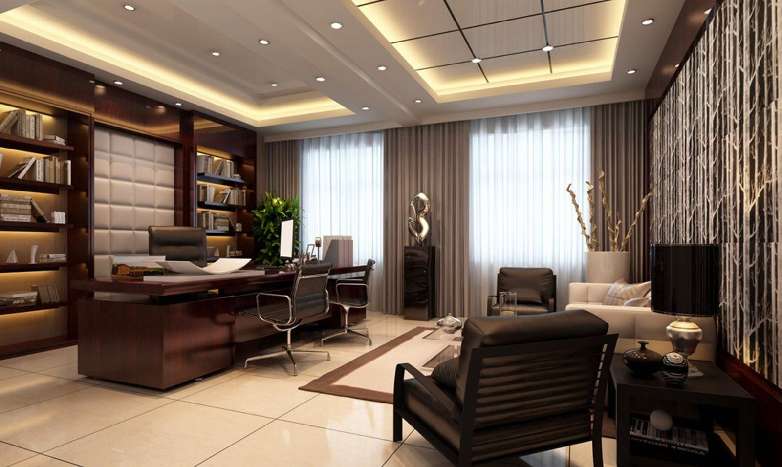 Best Modern Ceo Office Interior Design With Executive Office This Month