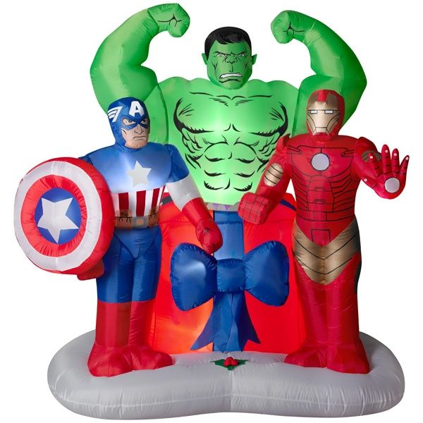 Best The Avengers Holiday Inflatable New For 2013 Super This Month