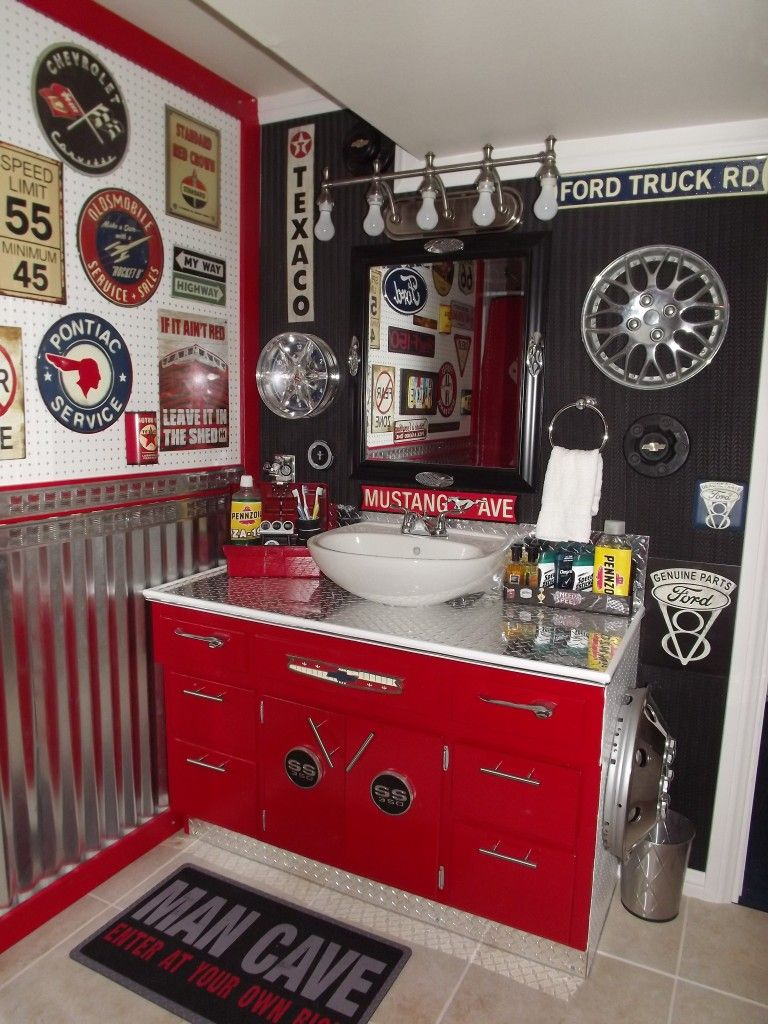 Best Our Boys New Vintage Car Auto Bathroom Easy And This Month