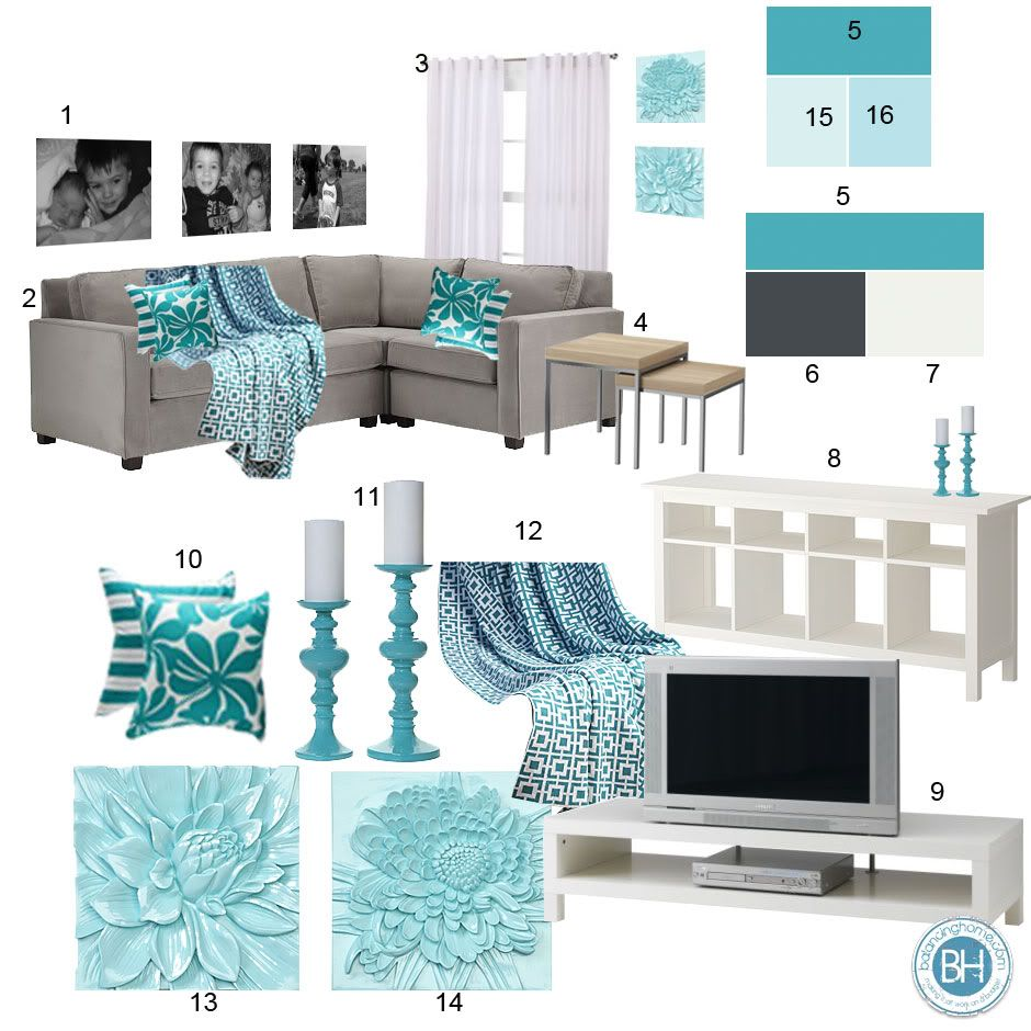 Best Aqua Color Schemes On Pinterest T**N Girl Bedspreads This Month
