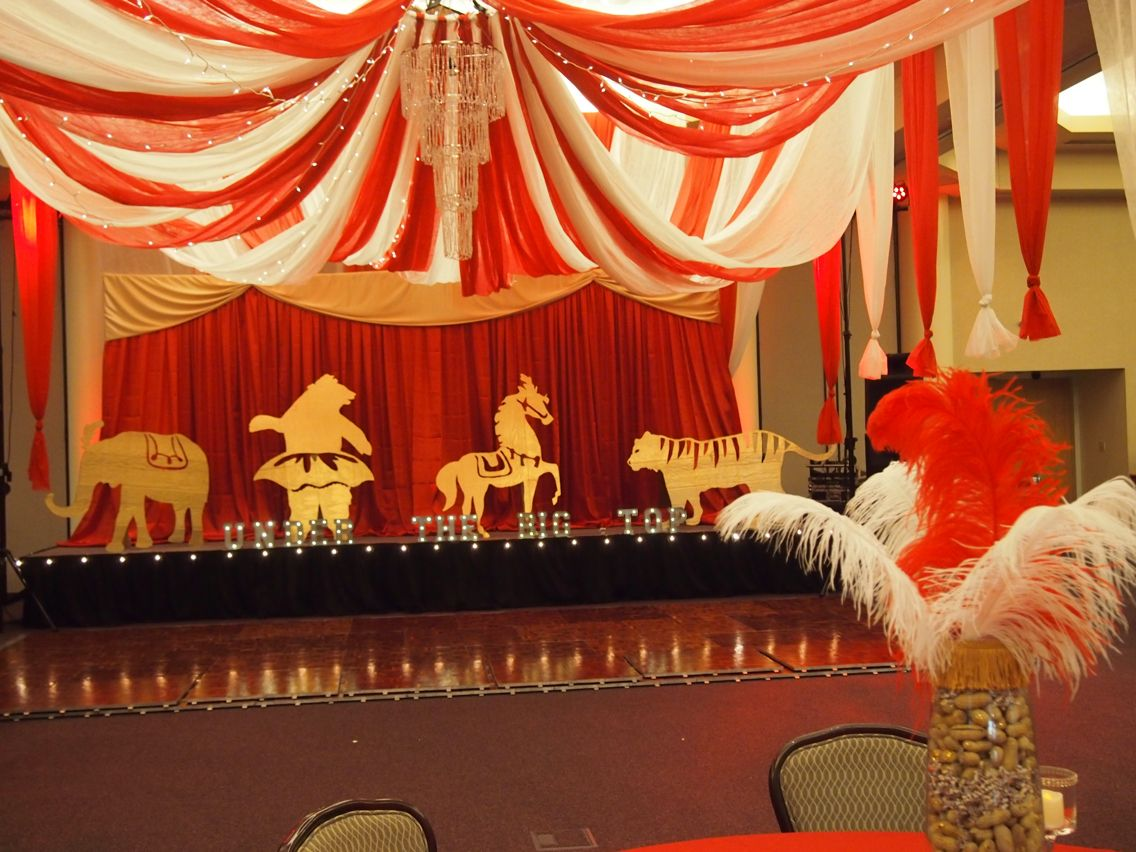 Best Under The Big Top Prom Vintage Circus Theme Under The This Month