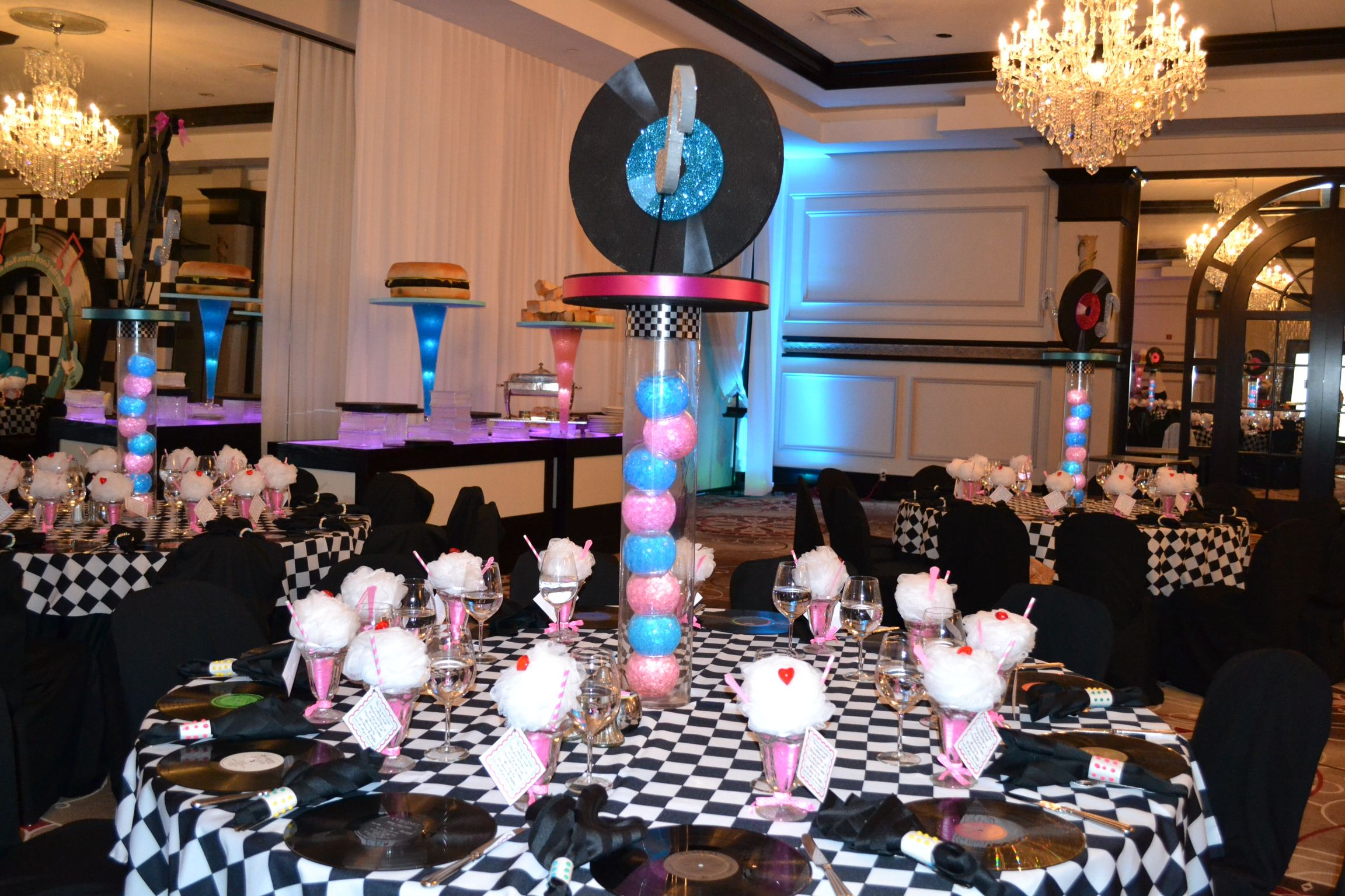 Best 50 S Themed Event Decor Party Perfect Boca Raton Fl 1 561 This Month