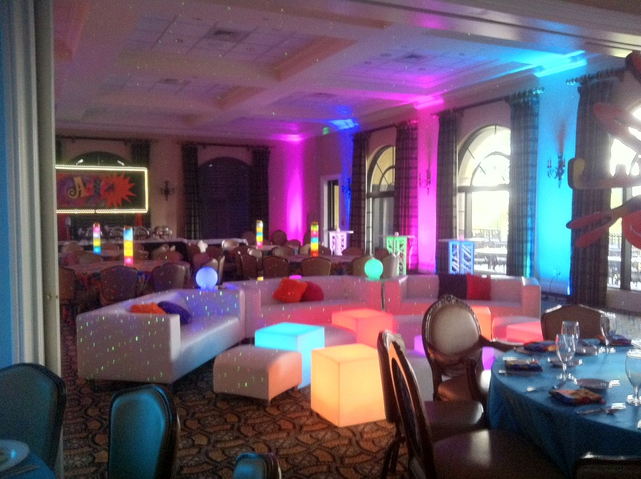 Best Austin Powers Groovy Theme Bar Mitzvah Event Decor Party This Month