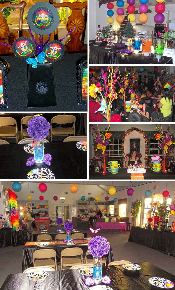 Best T**N Rainbow Gothic Mad Hatter Alice In Wonderland Party This Month