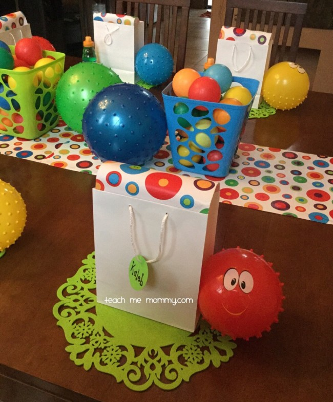 Best Ball Themed Party For A 2 Year Old Teach Me Mommy This Month