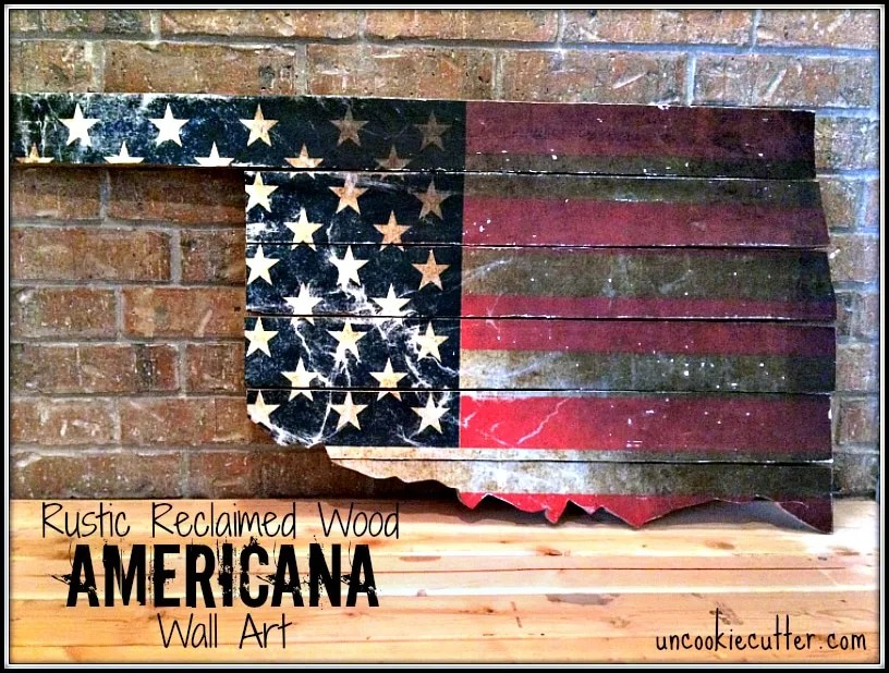 Best Rustic Americana Wall Art January Create And Share This Month