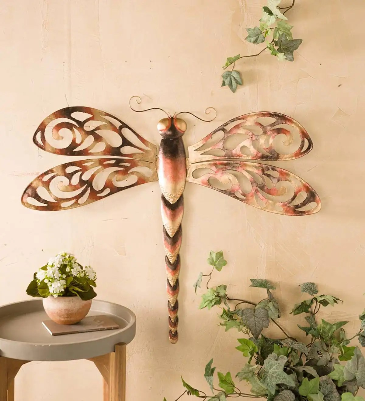 Best Large Metal Dragonfly Wall Art Wall Art Wind And Weather This Month