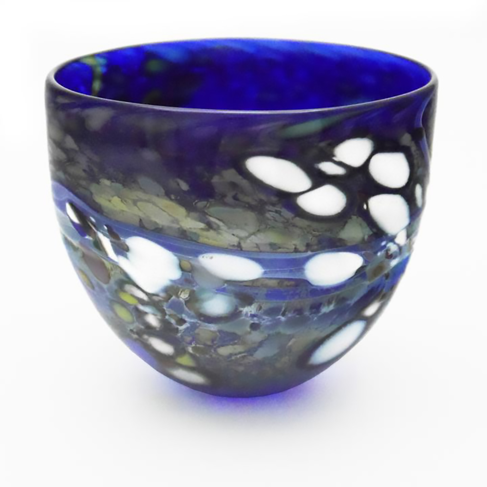 Best Decorative Blue Bowl I Lustre Rocks By Shakspeare Glass This Month