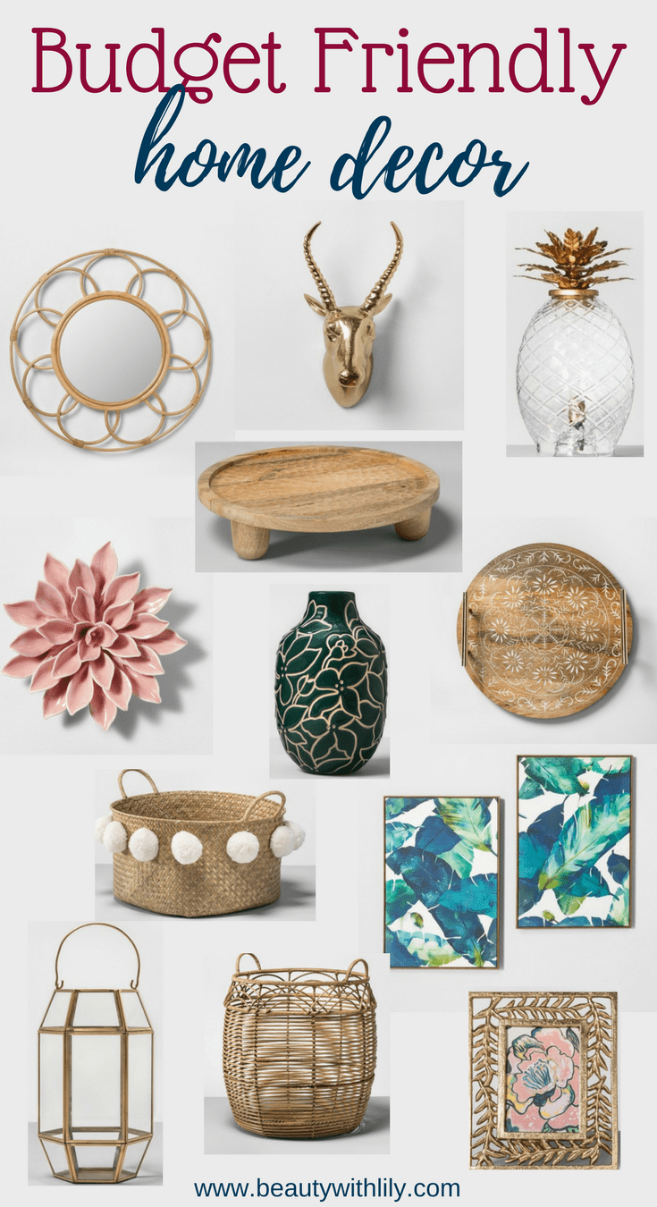 Best Affordable Home Decor Beauty With Lily This Month