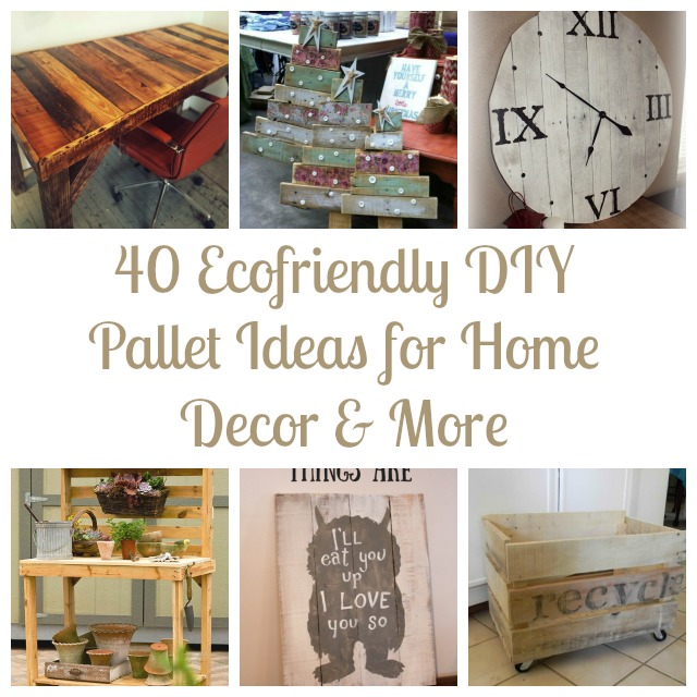 Best 40 Ecofriendly Diy Pallet Ideas For Home Decor More This Month