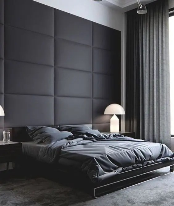 Best 27 Stylish Bedrooms With Black Walls Digsdigs This Month