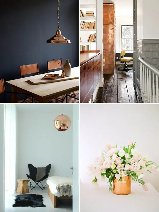 Best 24 Hot Home Décor Ideas With Copper Digsdigs This Month
