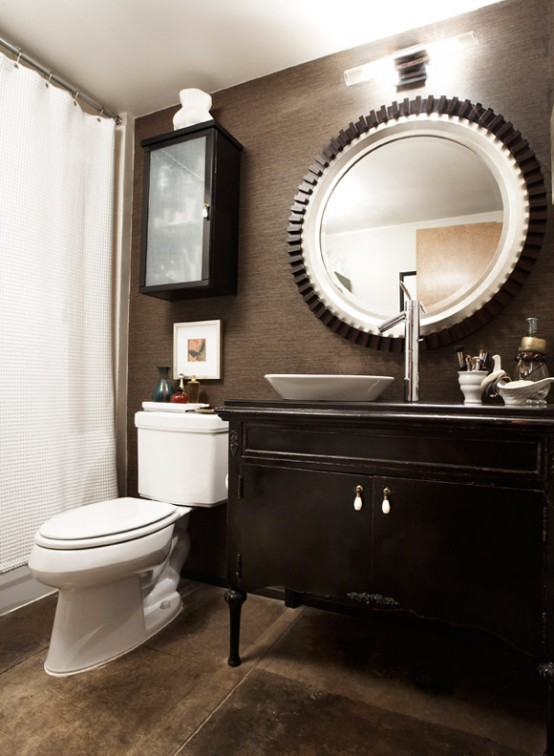 Best 97 Stylish Truly Masculine Bathroom Décor Ideas Digsdigs This Month