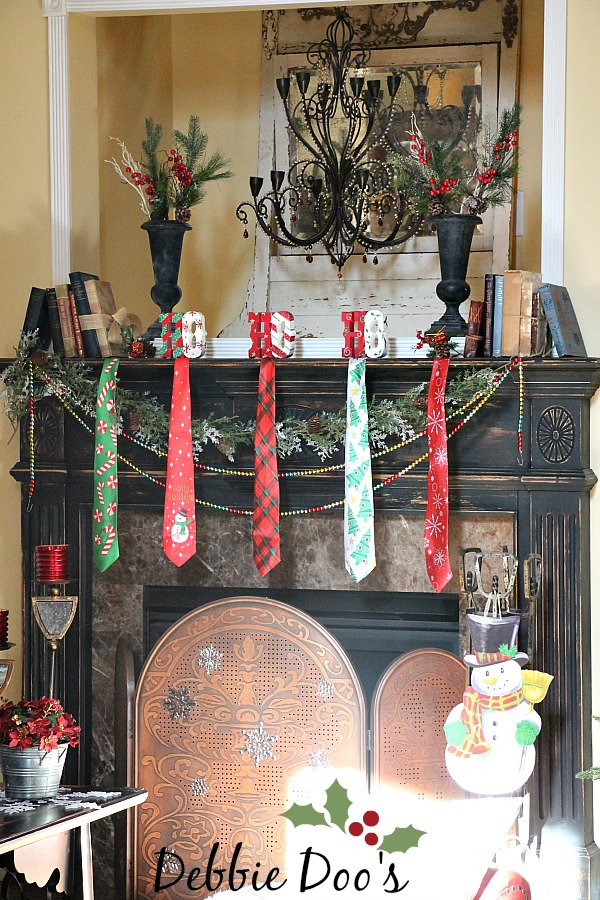 Best Christmas Mantel Decorating Ideas From The Dollar Tree And This Month