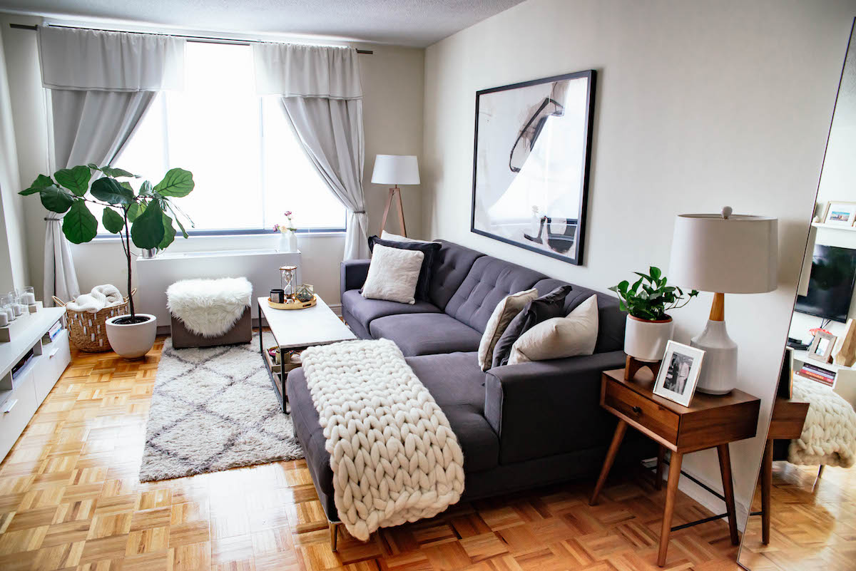 Best New York City Apartment Tour Living Room Kitchen This Month