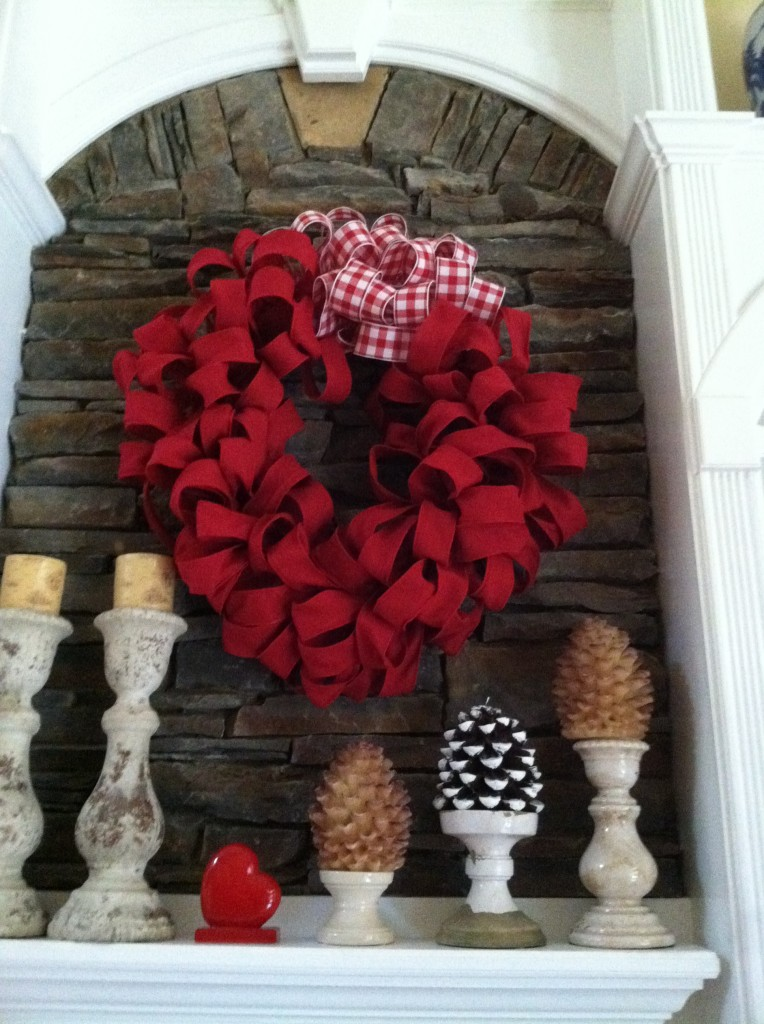 Best Red Burlap Wreath Valentines Day Mommy Blogs This Month