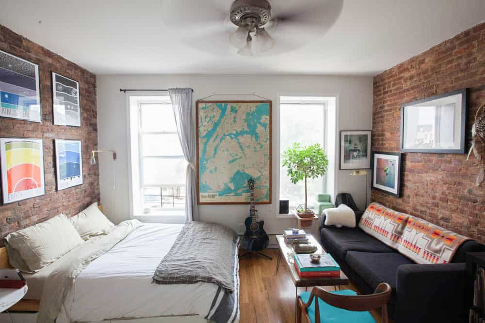 Best Apartment Decorating Ideas A Brooklyn Bedroom This Month