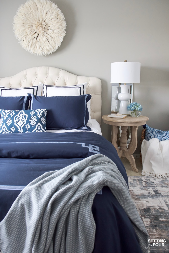 Best New Bedroom Updates Juju Hat Wall Decor Duvet Cover And This Month