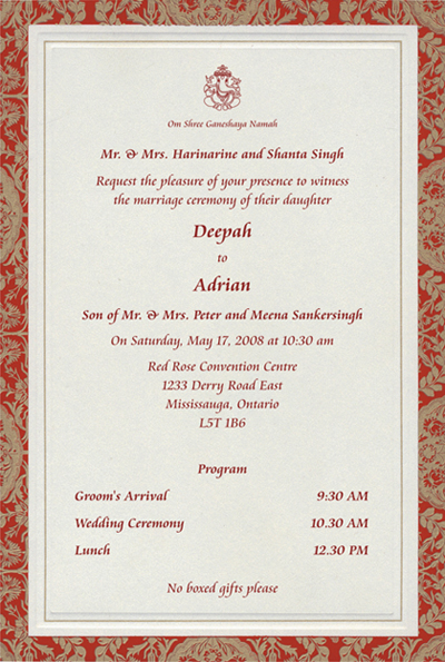 Marriage Invitation Quotes For Friends Wedding Wording Friendship Invite