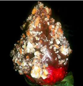 Somoa cookie chocolate covered strawberry