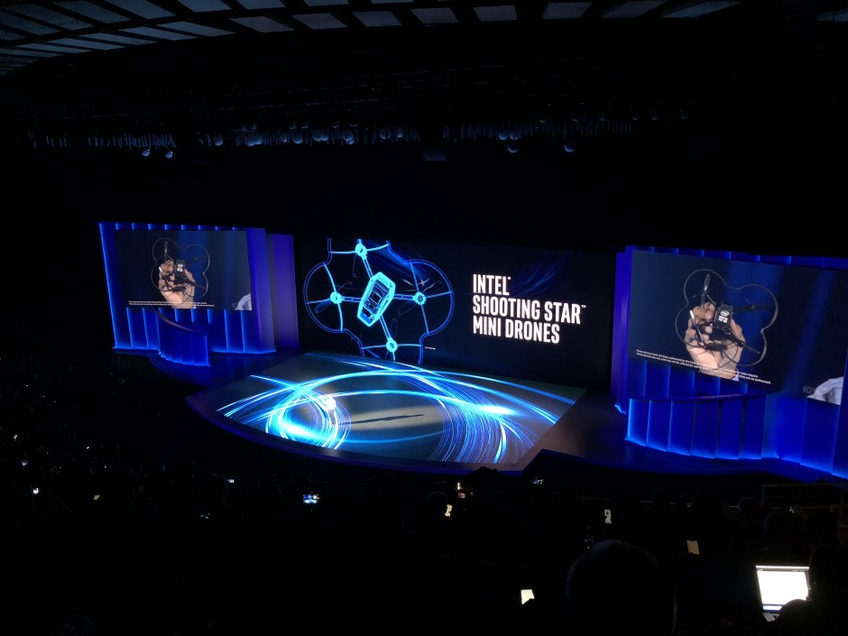 shooting star drone from intel