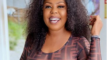 Check Out This Hot Photo Of Afia Schwarzenegger As She's Almost N@ked