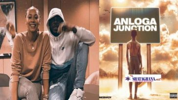 Stonebwoy's Anloga Junction Sets Huge Record On Audiomack As it hit close to 20M (Screenshot)