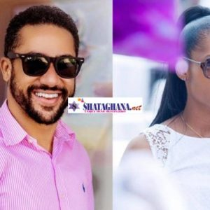 WATCH: Majid Michel's beautiful wife mistakenly shows her 'raw pie' in husband's live video in the room