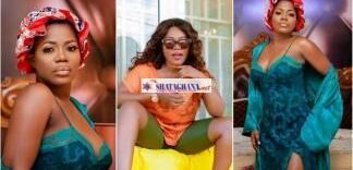Mzbel shows off her huge cam℮l to℮ in tight leggings on instagram
