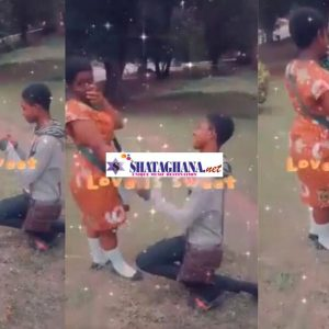 WATCH VIDEO: Teen boy proposes marriage to his JHS girlfriend after completion of BECE