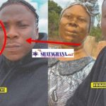 Stonebwoy shares photo with his mom statue; fans are stunned by the resemblance