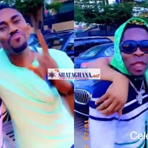 Watch The Drama As Shatta Wale and Ibrah One met face-to-face