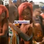 Davido wants to 'Eat' Efya; filmed holding & talking to her   Watch Video