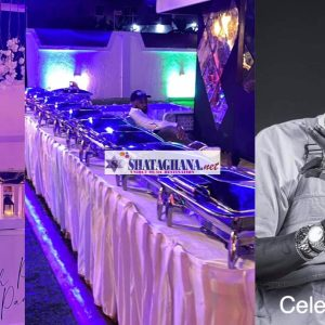 More photos from Shatta Wale's All White party; food is in abundance
