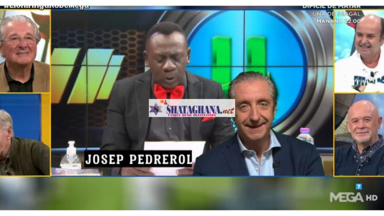 Video: Akrobeto Hits The International Stage Again, Interviews Top European Journalists Who Can't Stop Laughing At His English