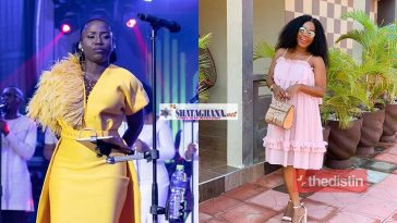"""I don't know the god you are talking about"" – Mzbel Tells Gospel Singer Diana Hamilton As She Prays For Her After Her Miscarriage (Video)"
