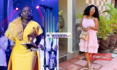 """""""I don't know the god you are talking about"""" – Mzbel Tells Gospel Singer Diana Hamilton As She Prays For Her After Her Miscarriage (Video)"""