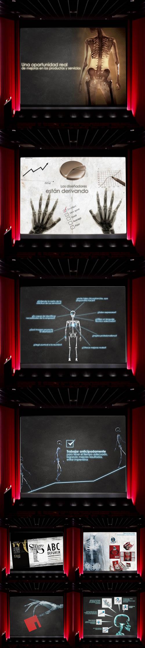 radiograf�a del diseño
