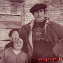 1968 г. Бауд с папиросой - это шутка. Он никогда в жизни не курил.